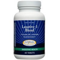 Enzymatic Therapy Laxative-3 Blend 60 Tablets by -