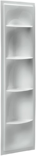 Kohler K-1842-95 Echelon Shower Locker, Ice Grey