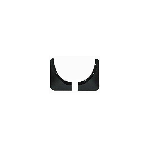 - Eckler's Premier Quality Products 25102994 Corvette Splash Guards Body Contoured Rear Matte Black Altec