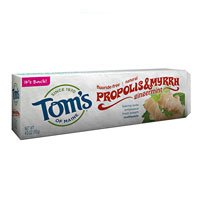 Tom's of Maine Propolis & Myrrh Natural Fluoride Free Toothpaste 5.5 oz (155 g)
