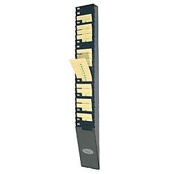 Lathem Time Expandable Time Card Rack, 25-Pocket, Holds 9