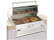 Fire Magic Charcoal Legacy Built In Grill (Grill w 30 in. Hood)