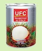 UFC Rambutan in syrup 234 g (8.25.oz) by UFC ()