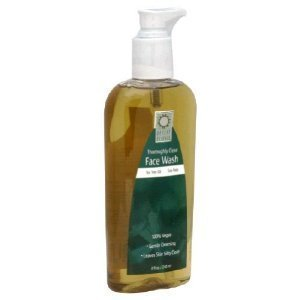 Desert Essence Thoroughly Clean Face Wash Refill, 64-Ounce (2x32) (Desert Essences Face Wash)