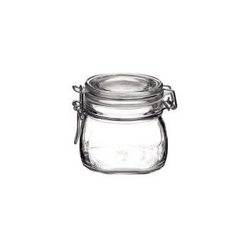 Bormioli Rocco Fido Storage Jar - Wire Bail - 500 mL - 12 pack