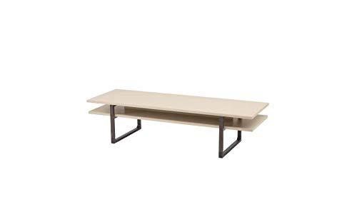Coffee Table Length 160 Cm Width 55 Cm Height 40 Cm Beige