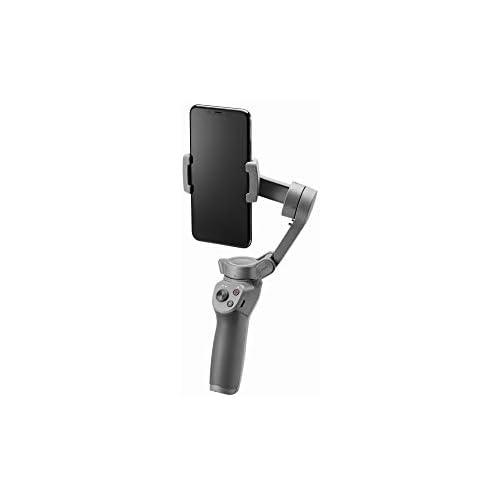 chollos oferta descuentos barato DJI Osmo Mobile 3 Estabilizador de 3 Ejes para Smartphone Compatible con iPhone y Smartphone Android diseño Ligero y Portátil grabación Estable Control Inteligente