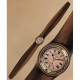 WW1 Laminated Wood Airplane Propeller Clock ()