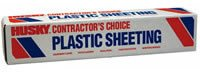 8 ft. x 100 ft. Clear 3-mil. Plastic Sheeting