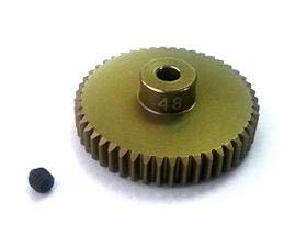 3Racing #3RAC-PG4848 48 Pitch Pinion Gear 48T (7075 w/ Hard Coating) for 3Racing ()