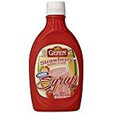 Gefen Strawberry Premium Syrup Gluten KFP Free 20 Oz. Pk Of 6.