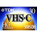 TDK VHS-C HG ULTIMATE TC-30 - PACK OF 5