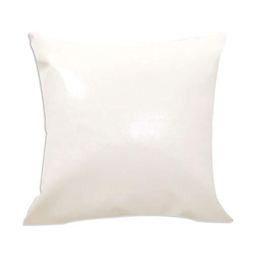 TOOGOO Pillow Estuche De Cuero Crazy Horse Oil Cortex Sofá ...