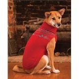 Fashion Pet Outdoor Dog Fireside Sweater, X-Small, Red