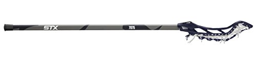 STX Lacrosse Womens Fortress 300 Complete Stick with Head, Handle & Strung, Navy Blue/Grey