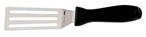 (Paderno World Cuisine stainless steel slotted spatula, 2