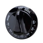 WB3K10048 - Hotpoint Aftermarket Replacement Oven Stove Range Thermostat Knob (Black)