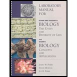 Starr and Taggart's Biology : The Unity and Diversity of Life and Starr's Biology, Starr, Cecie and Perry, James W., 0534568653