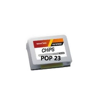 POP 23 ENGLISH SONG CHIP (200 Songs) Chip for ET28KH Magic Karaoke Microphone by Entertech