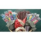 Buffalo Bob's Wild Game Jerky- Sampler Gift Pack of 10
