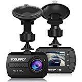 TOGUARD Mini Dashboard Camera Car Driving Recorder Full HD 1080P Dash Cam, Motion Detection