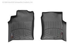 WeatherTech Custom Fit Front FloorLiner for Lexus GX470 (Black)