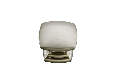 Hickory Hardware P2163-SS 1-1/2-Inch Euro-Contemporary Cabinet Knob, Stainless Steel