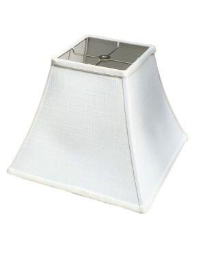 Amazon.com: upgradelights blanco lino 12 inch cuadrado Bell ...