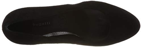 Bugatti Noir schwarz 11 4 Femme 1000 Escarpins 12638e AxXrXwqY