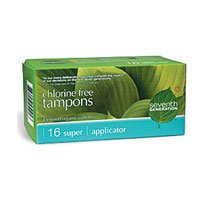 Seventh Generation Chlorine-Free Organic Applicator Tampon