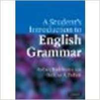 Book A Student's Introduction to English Grammar by Huddleston, Rodney, Pullum, Geoffrey K. [Cambridge University Press,2005] (Paperback) [Paperback]
