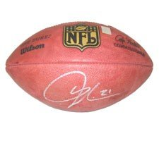 LaDainian Tomlinson Autographed Football - NFL Goodell Game Model with Tomlinson Hologram ()