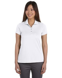 (IZOD Women's Short Sleeve Performance Golf Pique Polo Golf Shirt 13Z0081 White X-Large)