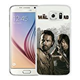 Newest and Fashionable Case The Walking Dead 25 White Phone Case for Samsung Galaxy S6
