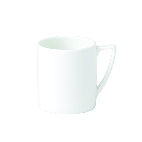 Jasper Conran by Wedgwood White Bone China Espresso Cup Plain