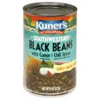 Kuner's Black Beans With Cumin And Chili Spices ()