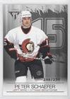 246 Insert - Peter Schaefer #246/250 (Hockey Card) 2003-04 Pacific Private Stock Titanium - [Base] - Retail Number Parallel #72