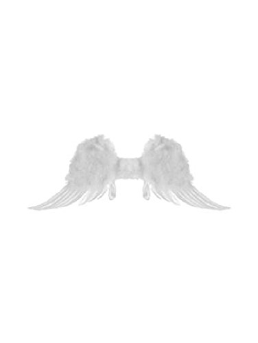 Feather Angel Wings For Child (Jacobson Hat Company Child's Angel Feather Wings, White)