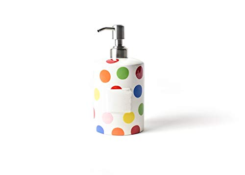 HAPPY EVERYTHING! Bright Dot Mini Cylinder Soap Pump ()