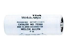 2 X Genuine Welch Allyn 72200 3.5 Volt Medical Batteries by Welch Allyn