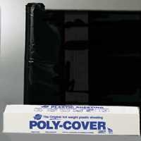 Orgill Poly 4X20 B Polyethylene Sheeting  4 Mil  Black