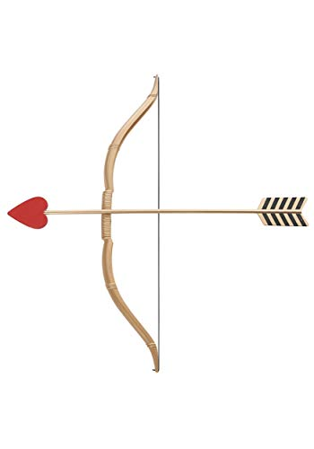 California Costumes Mini Bow and Arrow Set, Gold/Red, One Size