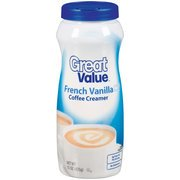 Fat Creamer Trans Dairy Non (Great Value French Vanilla Coffee Creamer, 15 oz(Pack of 4))