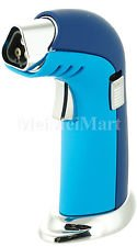 Victory Triple Torch Table Top Jet Lighter Butane Gift Box Blue-BabyBlue - Color Babyblue