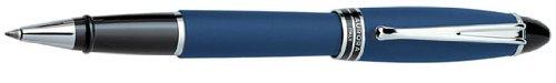 Aurora Ipsilon Satin Blue Rollerball Pen - AU-B70B