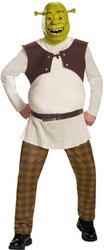 [Shrek Deluxe Adult 42-46 Costume PROD-ID : 1926967] (Deluxe Adult Shrek Costumes Mask)