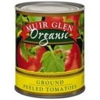 Muir Glen Organic Ground Peeled Tomato, 28 Ounce - 12 per case.