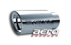"Aero Exhaust ST3040 3"" inlet 4"" outside 9"" long slant cut tip"