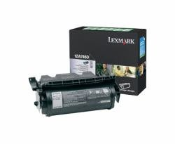 Printer T634n Laser - 12A7460 Toner, 5000 Page-Yield, Black, Sold as 1 Each