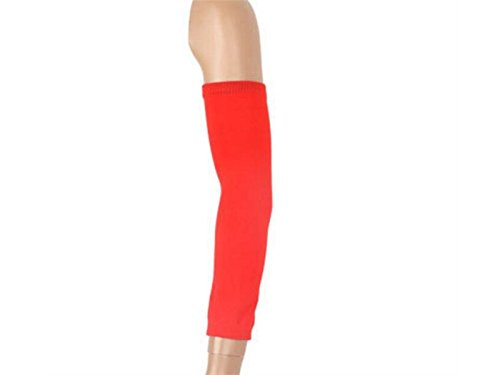 Andosange 2Pcs Elastic Fabric Arm Muscles Bracket Support Support_Red